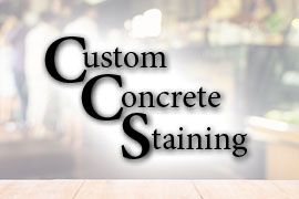 Custom Concrete Staining