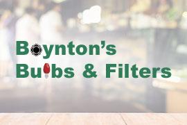 Boynton's Bulbs & Filters